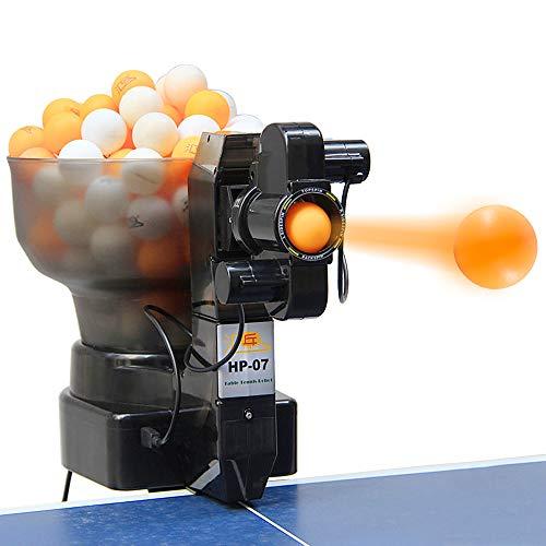 Roeam Tischtennis Ballmaschine für 40mm Bälle, 36 Arten von Sich drehenden Bällen, Automatische Tischtennis Ballwurfmaschine für das Solotraining