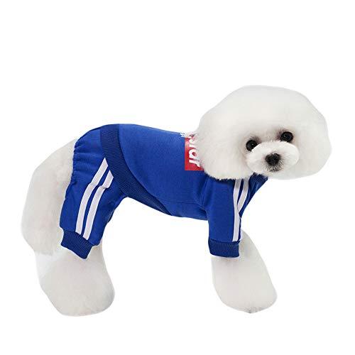 GLZKA Huisdier Kostuum voor Hond Sweatshirt Skateboard Kid Patroon Vierbenige Kleding Vrije tijd Mode Warm Dik Herfst en Winter
