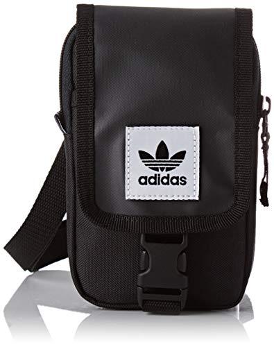 adidas Map Bag, Bolso bandolera Unisex Adultos, Negro (Negro), 24x15x45 cm (W x H x L)
