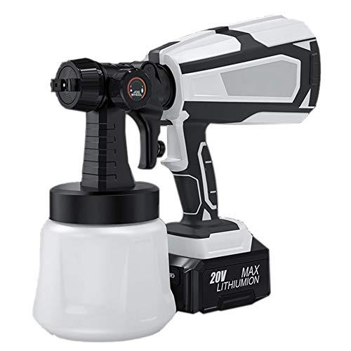 ZJJ Rociador de Pintura eléctrica inalámbrico de 20V 100 DIN-S Pistola de...