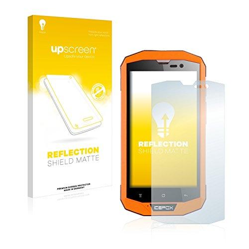 upscreen Entspiegelungs-Schutzfolie kompatibel mit Icefox Hero Plus – Anti-Reflex Displayschutz-Folie Matt