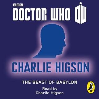 Doctor Who: The Beast of Babylon audiobook cover art