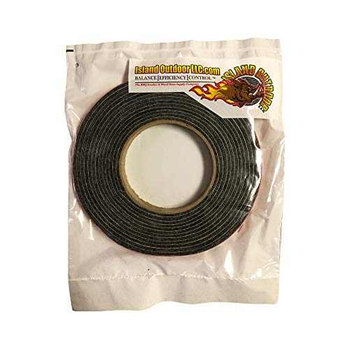 Check Out This LavaLock Self Stick BBQ Gasket Grey High Temp Smoker Gasket Charcoal Grill Seal - Fac...