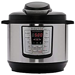nstant Pot LUX60V3 V3 6 Qt 6-in-1 Multi-Use Programmable Pressure Cooker, Slow Cooker, Rice Cooker, Sauté, Steamer, and Warmer