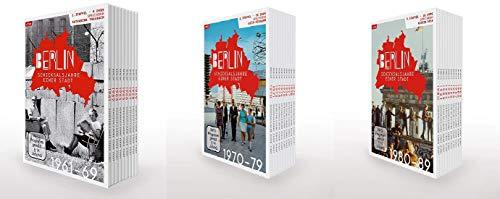 Berlin - Schicksalsjahre einer Stadt Staffel 1-3 (1+2+3, 1 bis 3) (1961-1989) [DVD Box Set]