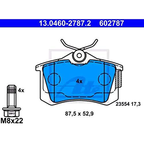 Preisvergleich Produktbild ATE - TEVES 13.0460-2787.2 Bremsbelagsatz,  Scheibenbremse