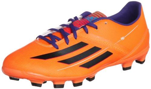 adidas F10 Adizero TRX HG Fußballschuhe orange/schwarz, Schuhgröße:EUR 45