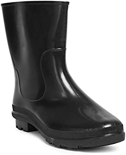 Hillson SB-010 Don Safety Gumboots, Black, Size 9