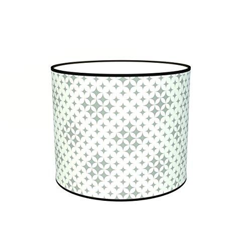 Abat-jours 7111306354155 Imprimé Kim Lampadaire, Tissus/PVC, Multicolore