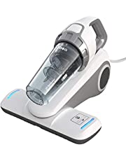 Dibea UV Bed Mattress Handheld Vacuum Cleaner Effectively Clean up Mattresses Pillows Curtains Sofas White UV-10