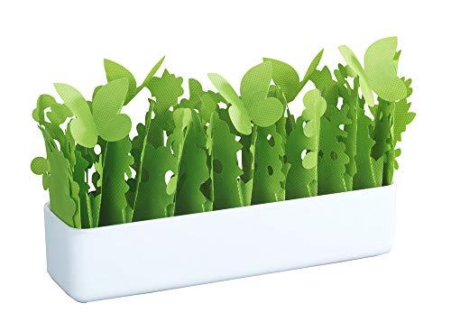 WENKO 52601500 Luftbefeuchter Flora, Polystyrol, 28 x 18 x 7 cm, Weiß