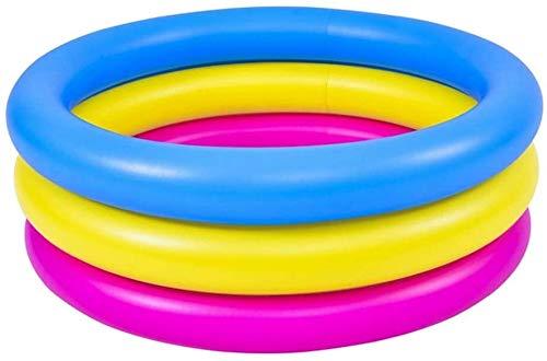 Kinder Aufblasbare Badewanne, Schwimmbad Verdickungsbad Pool Blasenboden Spielbecken , Baby Ocean Ball Sand Pool Bad Spielzeug Platz