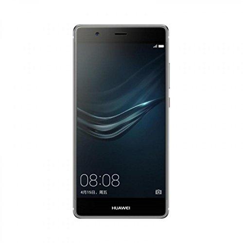 Huawei VIE-L09 Quartz Grey P9 Plus Smartphone 13,9 cm (5,5 Zoll) Android 6.0 Marshmallow, Kamera 16MP, 4GB RAM schwarz