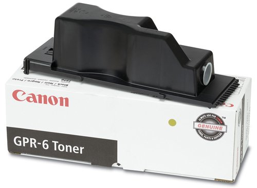 Canon GPR-6 6647A003AA ImageRunner 2200 2220 2800 3300 3320 Toner Cartridge (Black) in Retail Packaging