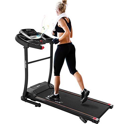 Merax Electric Folding Treadmill – Easy Assembly Fitness Motorized Running Jogging Machine