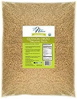 Tresomega Nutrition Organic Quinoa Orzo, 5-Pound by Tresomega Nutrition