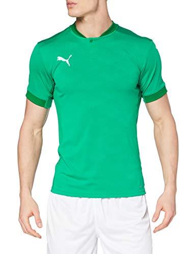 PUMA Teamfinal 21 Jersey Camiseta, Hombre, Pepper Green/Power Green, L