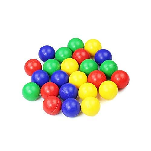 QiKun-Home Nourrir Les Perles à Avaler Grenouilles Manger des Haricots Jeux de réflexion Occasionnels Jeux Parent-Enfant Jouets Balles Jouets éducatifs pour Enfants Vert 60pcs 30 * 30 * 30mm