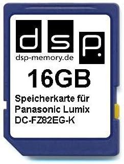 DSP Memory 16GB Speicherkarte für Panasonic Lumix DC FZ82EG K