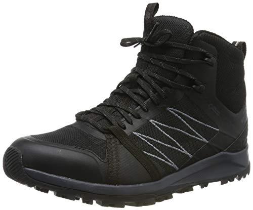 THE NORTH FACE Herren M Lw FP Ii Mid GTX Trekking-& Wanderstiefel, Schwarz (TNF Black/Ebony Grey Ca0), 43 EU