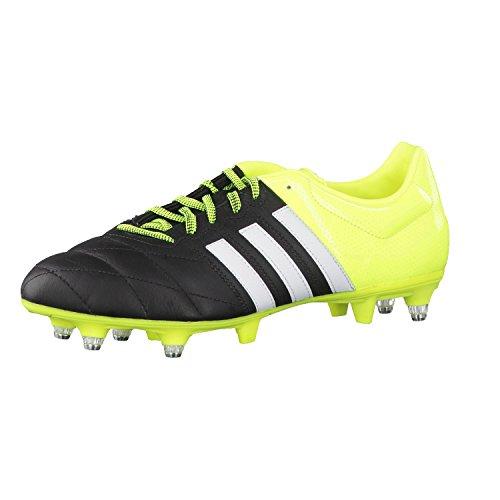 Adidas Ace Low Sg Lea Voetbalschoenen voor heren, zwart 40 EU