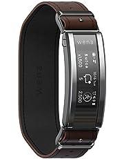ソニー ウェナ SONY wena スマートウォッチ 電子マネー Suica Alexa搭載 活動量計 iOS/Android対応 wena 3 leather Brown WNW-C21A/T