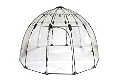 Tierra Garden 50-2510 Haxnicks Garden Sunbubble Greenhouse, Large - Best Geodesic Dome Kit