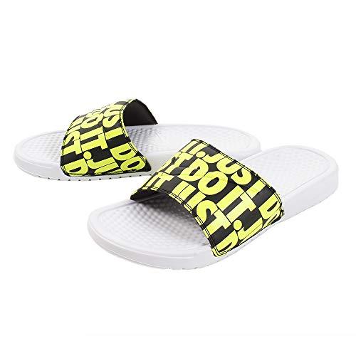 Nike Men's Beach & Pool Shoes, Multicolour White Volt Black 000, Women 2
