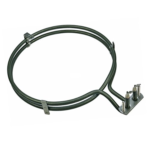 Horno Aire caliente, Circulación de aire Resistencia 2500 vatios adecuado para Siemens Bosch 083517, AEG Electrolux 899661912861