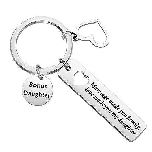 Zuo Bao córka prezent małżeństwo sprawiło, że jesteś rodzinna miłość Made You My Daughter bransoletka krokowa córka biżuteria e Stal nierdzewna, cod. ST86