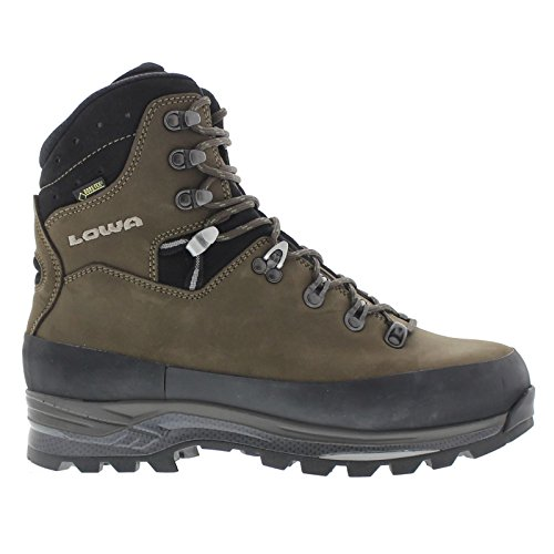 Lowa Men's Tibet GTX Trekking Boot,Sepia/Black,8 M US