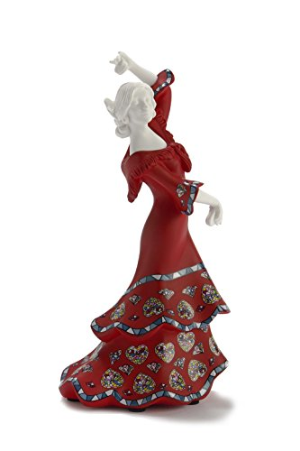 Nadal Figura Decorativa Gracia española, Resina, Multicolor, 6.00x7.20x15.00 cm