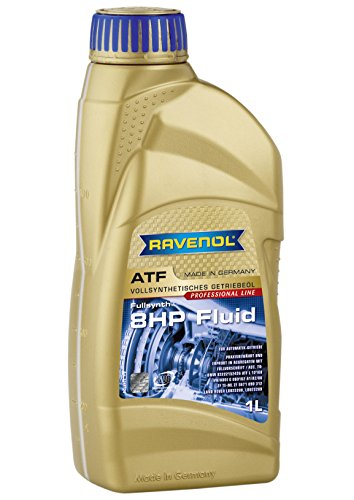 RAVENOL J1D2113 ATF (Automatic Transmission Fluid) - 8 HP 8-Speed & 6-Speed Compatible with Replacement for ZF Transmissions (1 Liter)