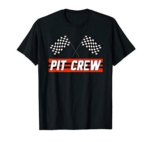 PIT CREW Race Car T Shirt - Hosting Parties...