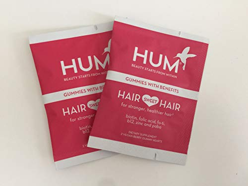 Hum Nutrition Hair Sweet Hair Gummies, Set of 2 Packets
