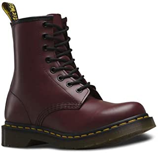 Dr. Marten's Women's 1460 8-Eye Patent Leather Boots, Cherry Red Rouge Smooth, 7 F(M) UK / 9 B(M) US Women / 8 D(M) US Men