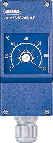 JUMO Termostato de instalación tipo 603070/0002 TW con mando a distancia.