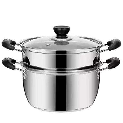 Pentola Pot della minestra Non-Stick Pot Piccolo Hot Pot Pot della minestra Porridge Pratica Hot Pot Gas Hot Pot Boiling Pot istantaneo, 24cm 4.0L Huangwei7210