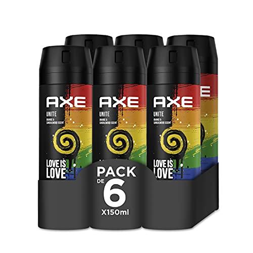 Axe Desodorante Bodyspray Unite Pride 150ml - Pack de 6