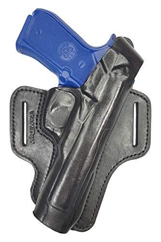 VlaMiTex B7 Funda de pistola para cinturón, de piel, para Zoraki 918