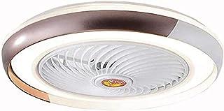 Ventilateur De Plafond Avec Éclairage LED Vitesse Du Vent Réglable Suspension Lumière Dimmable Avec Télécommande Plafonnie...