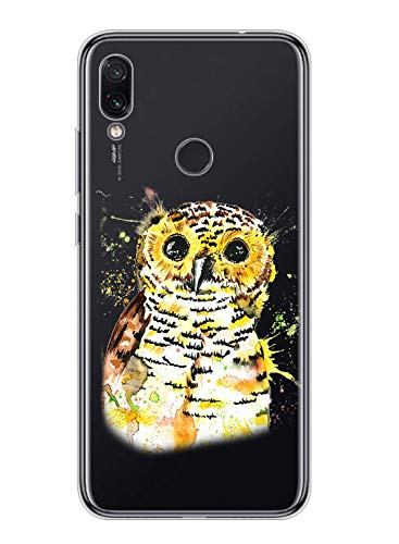 Suhctup Coque Compatible pour LG K50S Transparente en Silicone,Étui en Souple TPU Motif Animale Ultra Fine Antichoc de Protection Housse Bumper Case Cover pour LG K50S,A5