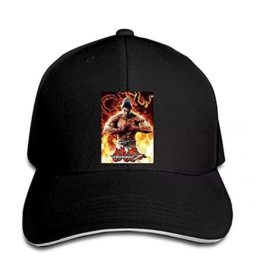 FOMBV Berretto da Baseball Game Men's Personality Black Snapback Hat con Visiera Regolabile Stampato Cappello Visiera Regalo