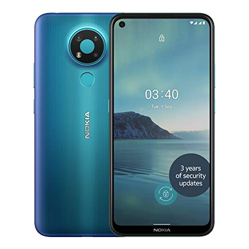 Nokia 3.4 6.39 Inch Android UK SIM-Free Smartphone with 3GB RAM and 32GB...