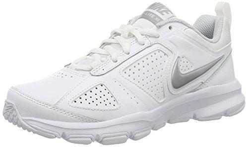Nike 616696-101, Zapatillas de Deporte para Mujer, Blanco (White/Metallic Silver Pure Platinum), 36 EU