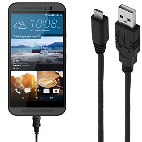 ASSMANN Ladekabel/Datenkabel kompatibel für HTC One M9 Plus - schwarz - 1m