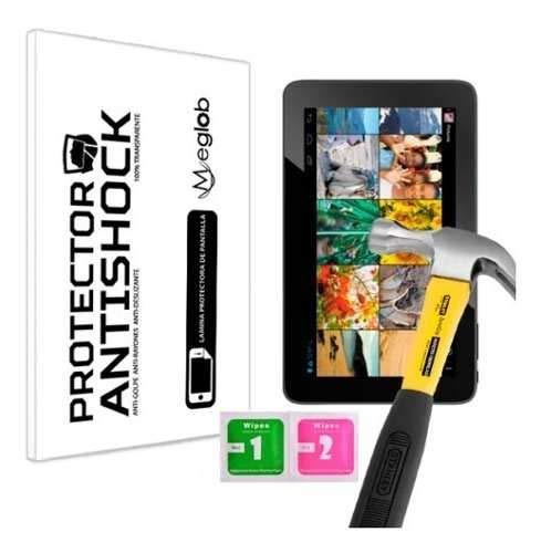 Displayschutzfolie Anti-Shock Kratzfest Bruchsicher Kompatibel mit Archos Arnova 10d G3
