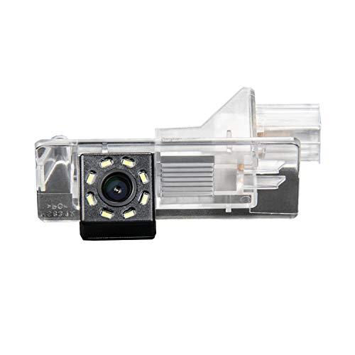 HD 720p CCD Impermeable Cámaras de visión Trasera, Cámara de Marcha Atrás con de Visión Nocturna para Renault Scenic 2 Scenic 3 Duster Megane 3 Lutecia Laguna 2/3 Clio 3/4