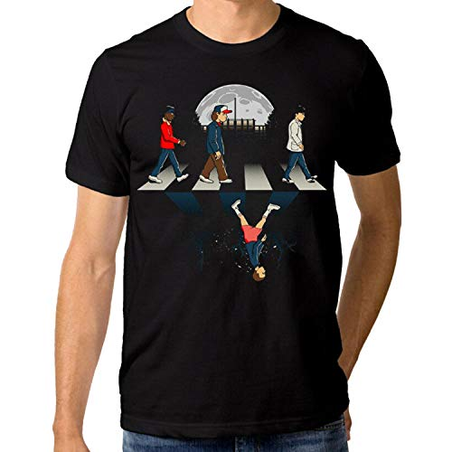 kanyeah Stranger Things Abbey Road T-Shirt, Men's Women's, M