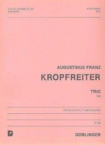 Trio: für Violine, Klarinette und Klavier
